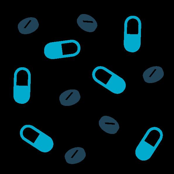 immagine vettoriale antibiotici