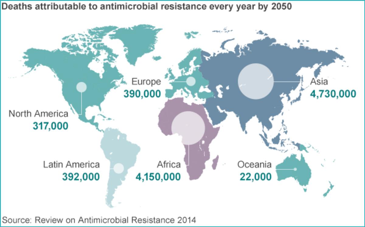La Resistenza Agli Antibiotici Provocherà 10 Milioni Di Morti Nel Mondo Entro Il 2050. E L'Italia è Tra I Paesi Messi Peggio