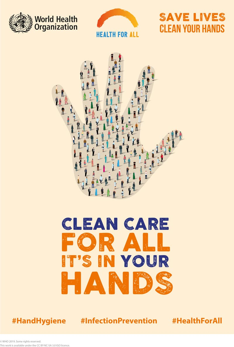 SAVE LIVES: Clean Your Hands 5 May 2019