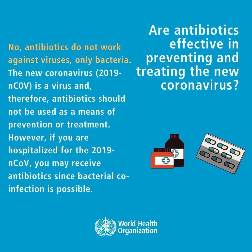 Are Antibiotics Effective In Preventing And Treating The New Coronavirus?