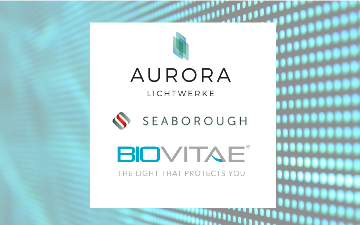 Aurora Lichtwerke And Seaborough Develop The First Universally Applicable Biovitae Sanitizing LED Tube